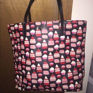 EUC Kate Spade Cupcake Leather Tote bag